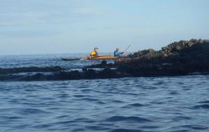 4 nautilus wooden kayaks Cabo de gata 2017 nautiluskayaks navegando cabo de gata 2017 1