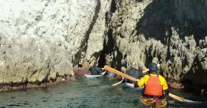 4 nautilus wooden kayaks Cabo de gata 2017 un nuevo rincon para los locales