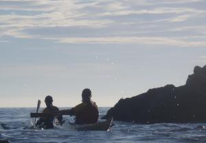 9 nautilus wooden kayaks Cabo de gata 2017 nautiluskayaks abriendonos para coger el cabo